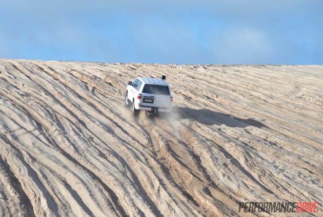 2016 Toyota LandCruiser GX-climbing