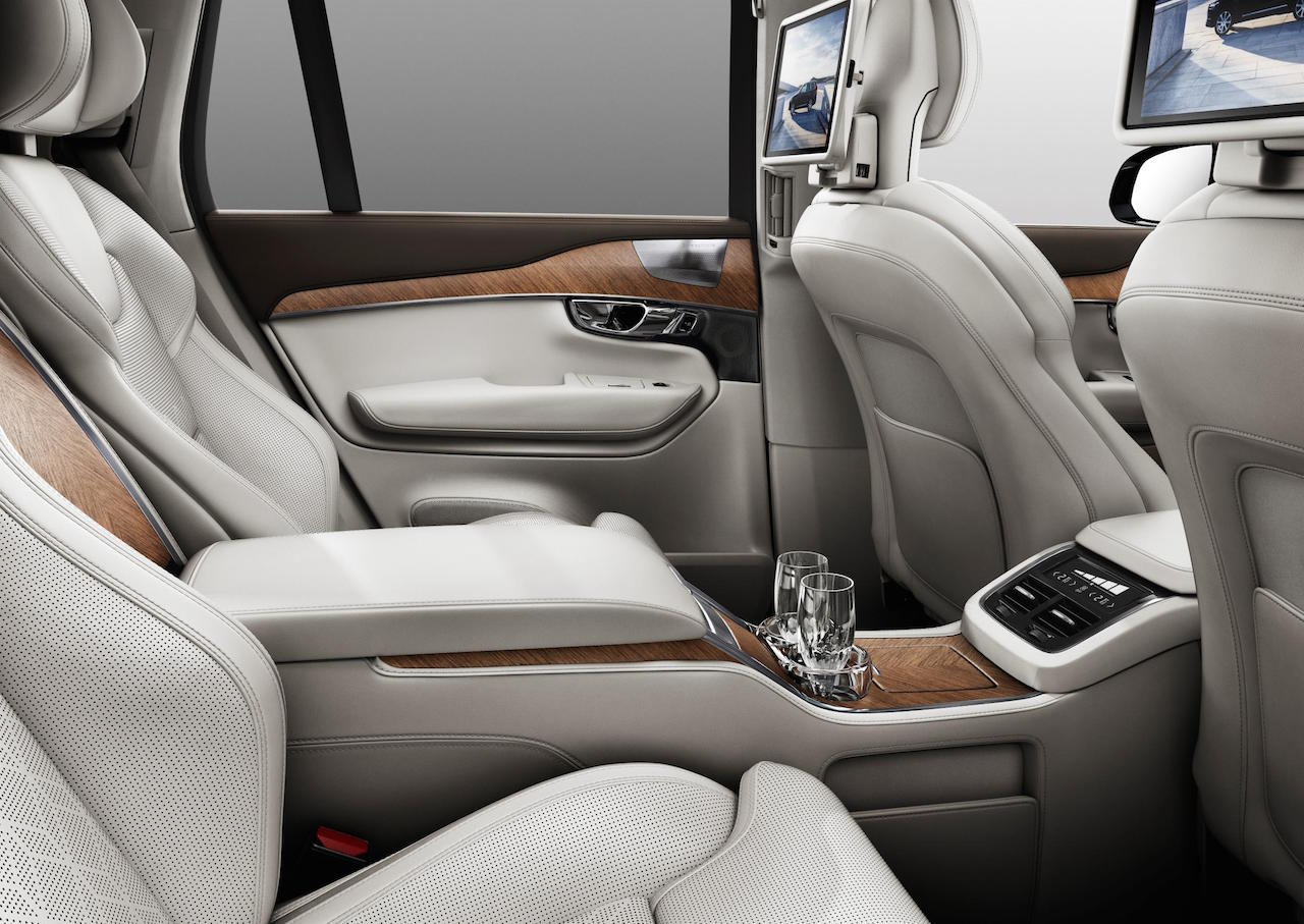super luxury 4 seat volvo xc90 excellence revealed performancedrive. Black Bedroom Furniture Sets. Home Design Ideas