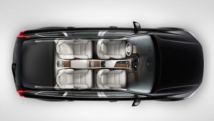 Super-luxury 4-seat Volvo XC90 Excellence revealed