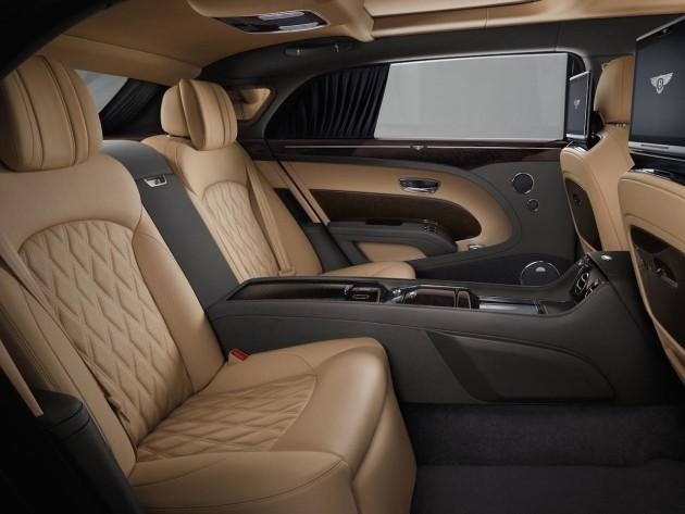 2017 Bentley Mulsanne Extended Wheelbase-rear seats
