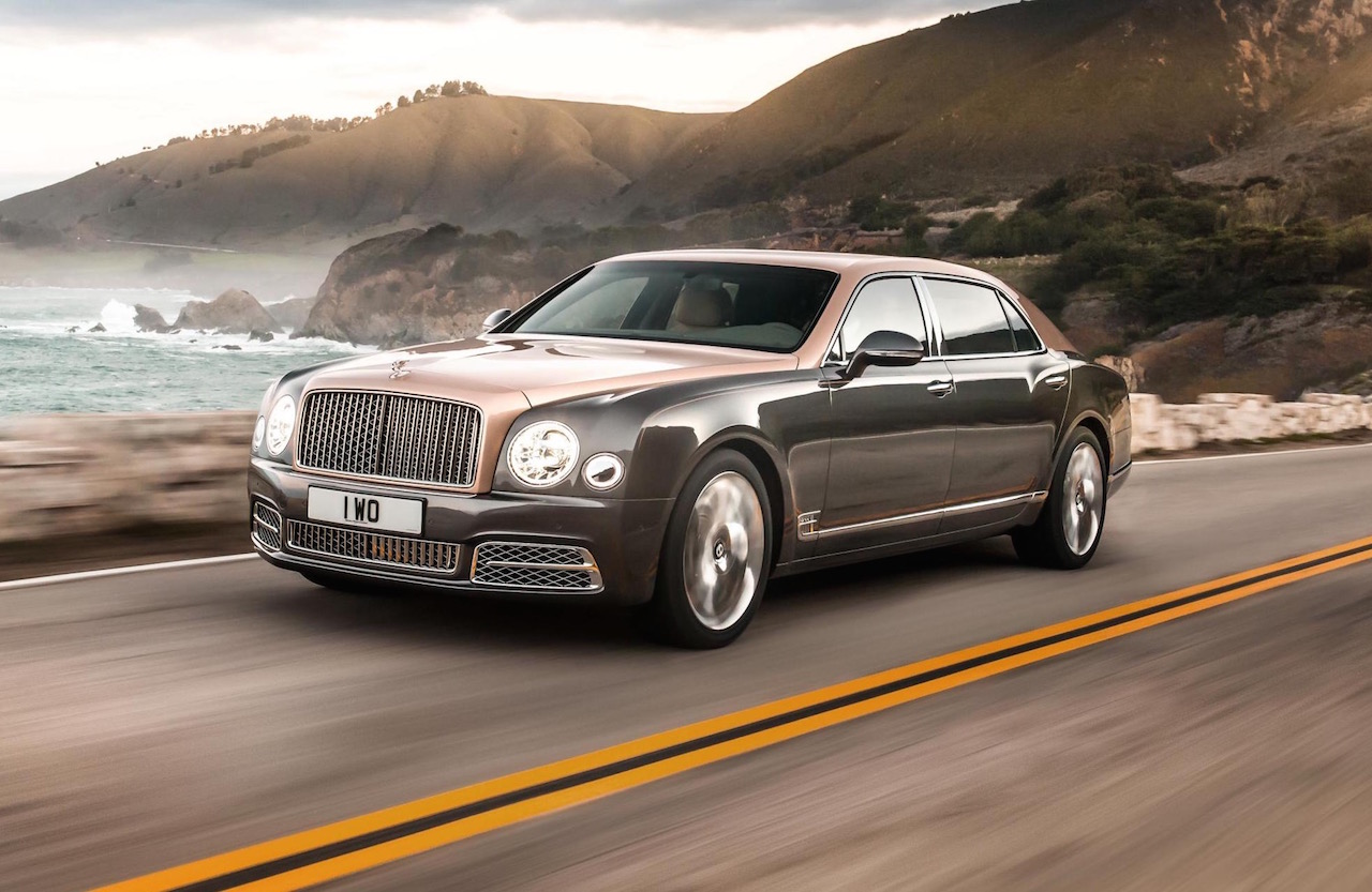 2017 Bentley Mulsanne Unveiled, Extended Wheelbase Option