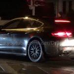 2017 Porsche Panamera hybrid spotted, gets new digital dash (video)