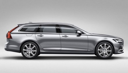 2017 Volvo V90 wagon revealed in leaked images