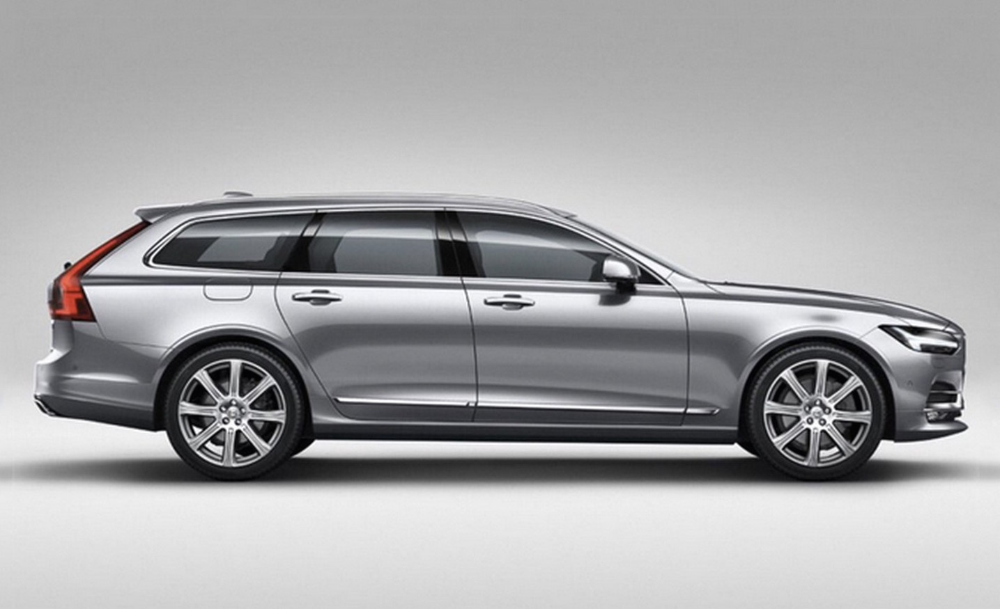 2017 volvo v90 wagon revealed in leaked images performancedrive. Black Bedroom Furniture Sets. Home Design Ideas