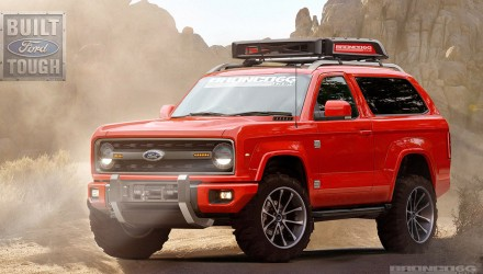 Future Ford Bronco envisaged, fitting design for SUV icon?
