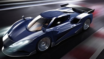 Arash Motor Company plans 1551kW hybrid hypercar; the AF10