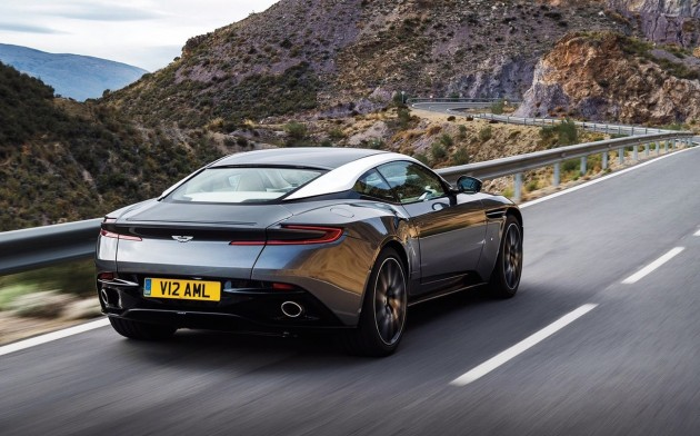 Aston Martin DB11-rear