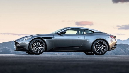 Aston Martin DB11 revealed in leaked images