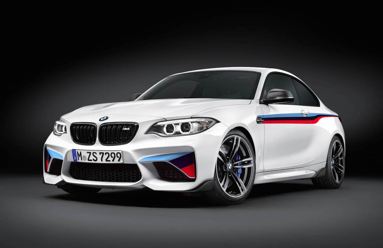bmw m2 with full suite of m performance options revealed. Black Bedroom Furniture Sets. Home Design Ideas