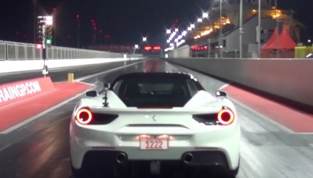 Stock Ferrari 488 GTB runs 10-second quarter mile (video)