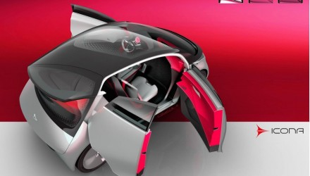 Icona Neo concept previews futuristic EV city car