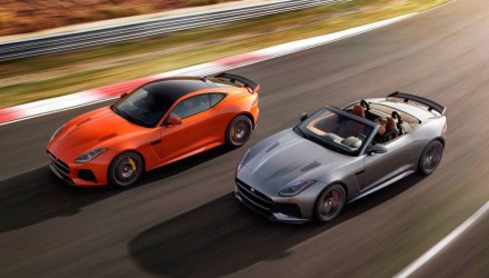Jaguar F-Type SVR revealed, on sale in Australia from $289,590