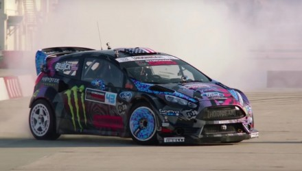 For Sale: Ken Block's Ford Fiesta Hybrid Function Hoon Vehicle
