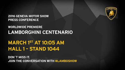Lamborghini Centenario-preview
