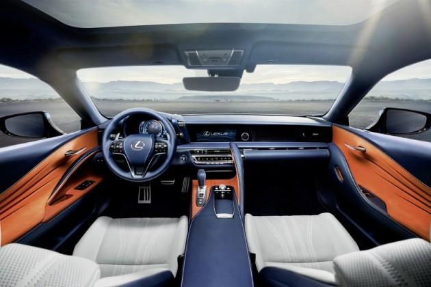 Lexus LC 500h-interior