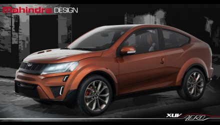 Mahindra XUV Aero concept revealed at Auto Expo