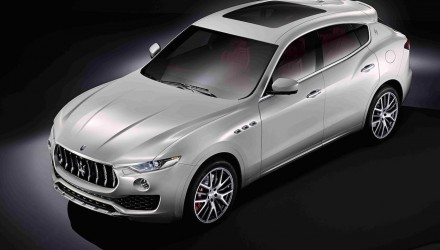 Maserati Levante officially revealed, first-ever SUV