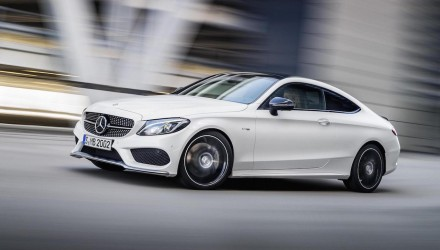 Mercedes-AMG C 43 AMG 4MATIC Coupe revealed