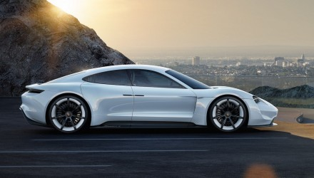 Porsche Mission E EV sports car development starts, codenamed J1