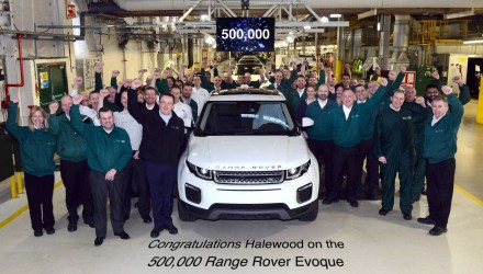 Range Rover Evoque hits 500,000 production milestone