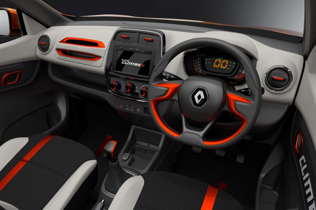 renault kwid racer climber concepts show potential performancedrive. Black Bedroom Furniture Sets. Home Design Ideas