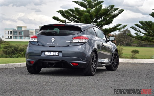 Renault Megane RS 275-taillights