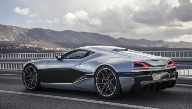 Rimac Concept-One-production model