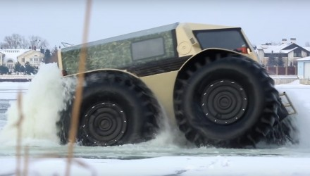 SHERP ATV makes your SUV seem as useful as a glass football (video)