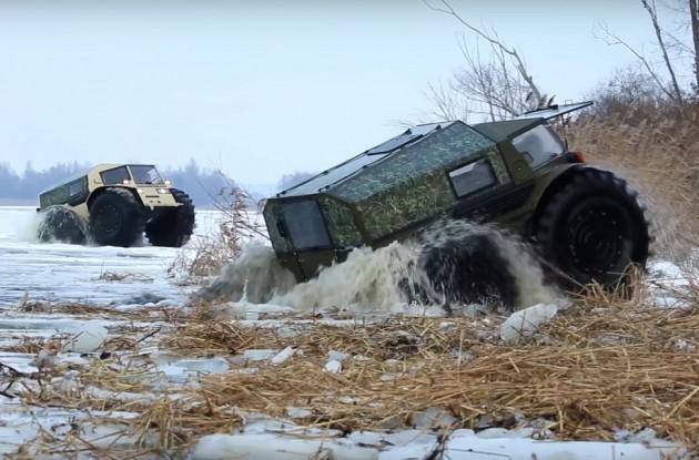 SHERP ATV-ice