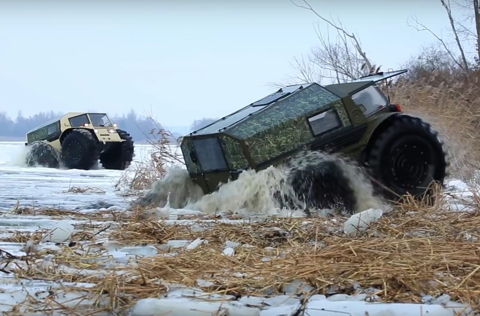 SHERP ATV makes your SUV seem as useful as a glass ...