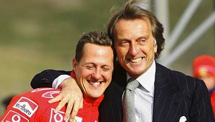 Former Ferrari boss Montezemolo speaks about Schumacher