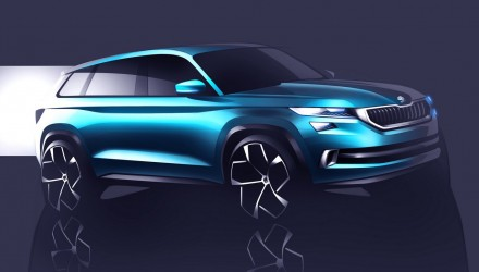 Skoda VisionS concept previews future 3-row-seat SUV