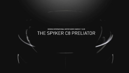 Spyker C8 Preliator previewed before Geneva debut