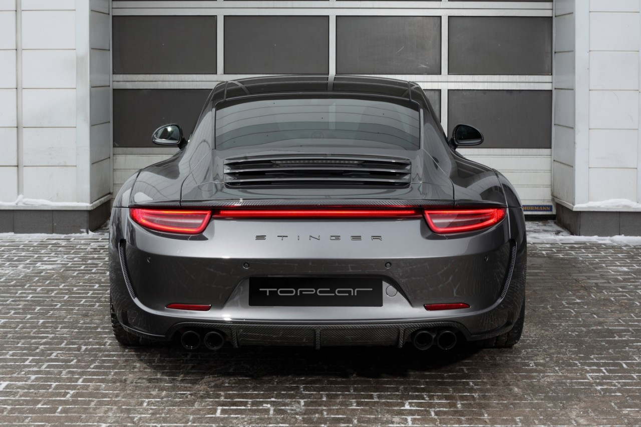 topcar develops carbon fibre wide body kit for 991 porsche 911 performancedrive. Black Bedroom Furniture Sets. Home Design Ideas