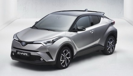 Toyota C-HR production compact SUV leaks out early