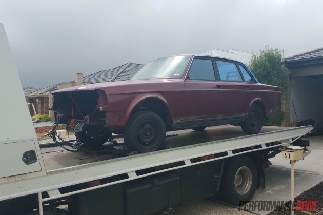 Volvo 240 GL LS1 V8 project-2