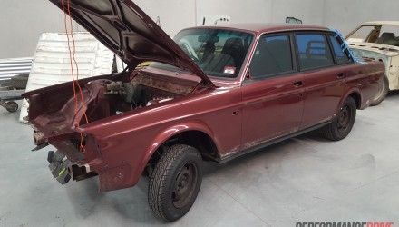 Volvo 240 GL with LS1 V8 conversion project: Part 6 – off to paint shop