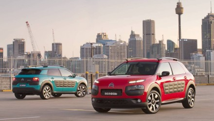 Citroen C4 Cactus now on sale in Australia from $26,990