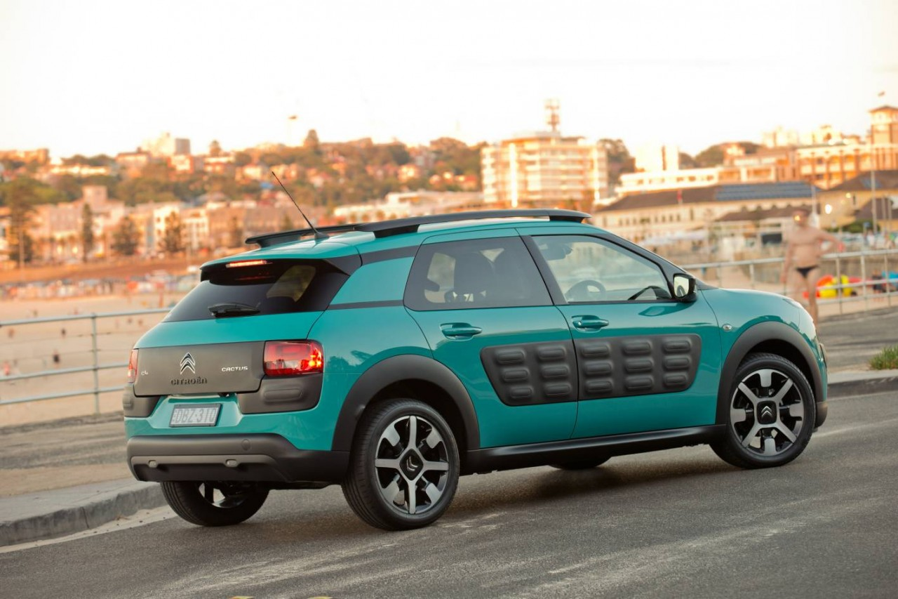 citroen c4 cactus now on sale in australia from 26 990 performancedrive. Black Bedroom Furniture Sets. Home Design Ideas