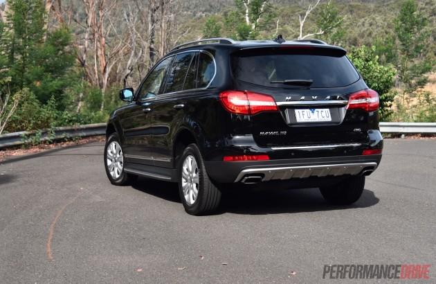 2016 Haval H8 Premium-rear