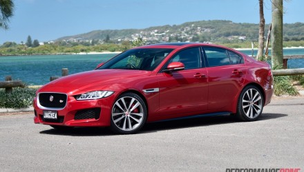 2016 Jaguar XE S review (video)