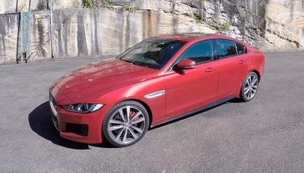 Video: 2016 Jaguar XE S review (POV) on PDriveTV