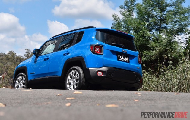 2016 Jeep Renegade Longitude-Australia