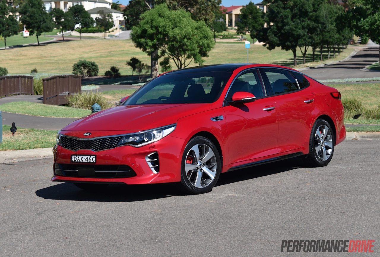 2016 Kia Optima Gt Turbo Review Video Performancedrive