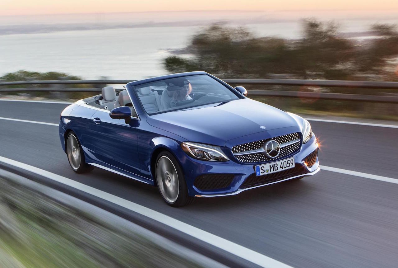 2016 mercedes benz c class cabriolet revealed performancedrive. Black Bedroom Furniture Sets. Home Design Ideas