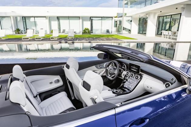 2016 Mercedes-Benz C-Class Cabriolet-seats