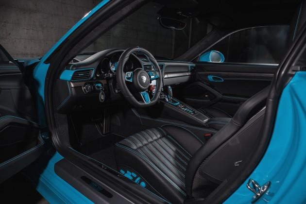 2016 Porsche 911 Carrera TechArt-interior
