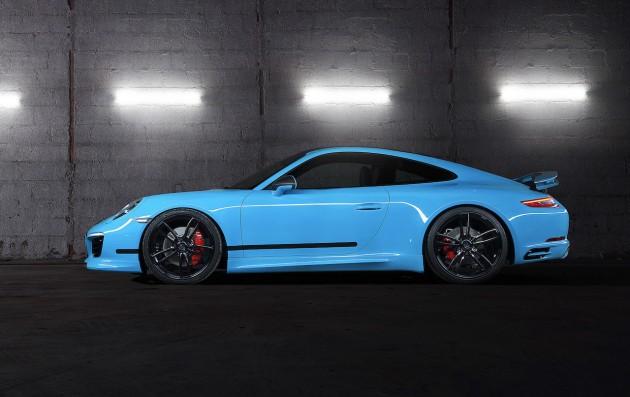 2016 Porsche 911 Carrera TechArt-side