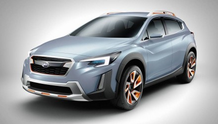 Subaru XV concept previews next-gen design direction