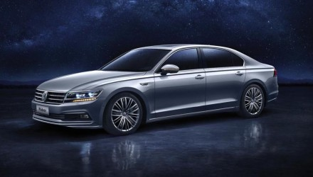 Volkswagen unveils new luxury sedan for China: the PHIDEON